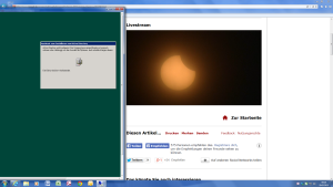 DCPROMO-Sonnenfinsternis